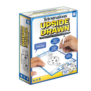 Telestration Upside Drawn Game