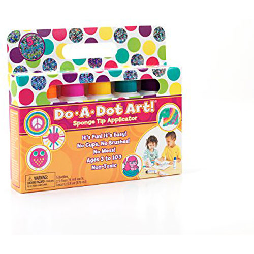 Do A Dot Art! Marker Tutti Frutti Shimmer Markers, 5-Pack, The Original Dot Marker