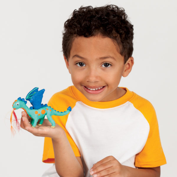 Create With Clay Mythical Creatures