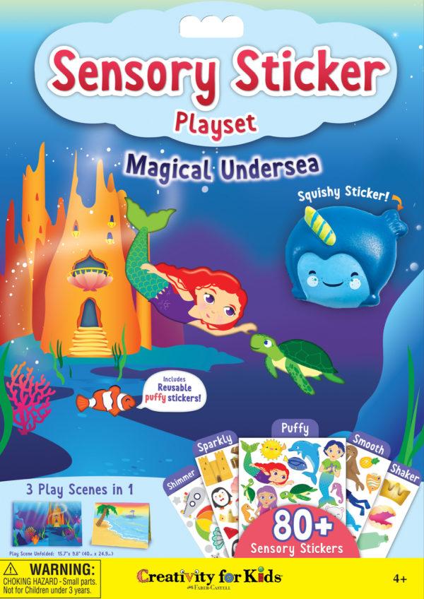 Sensory Sticker Playset - Magical Undersea