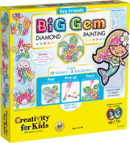 Big Gem Diamond Painting - Sea Friends