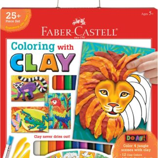 Do Art Coloring with Clay