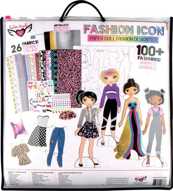 Fashion Icon Paper Doll Fashion Design Kit
