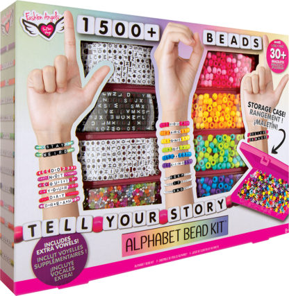Tell Your Story 1500+ Alphabet Bead Set