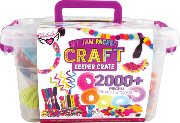My Jam-Packed Craft Crate
