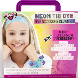 Neon Tie Dye Hair Accessory Design Keeper Crate