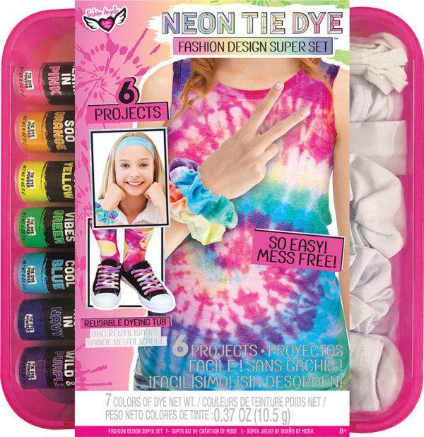 Neon Tie Dye Super Set