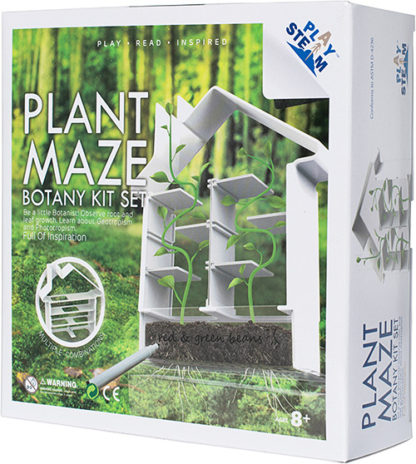PlaySTEAM Greenhouse Plant Maze Botany Learning Set
