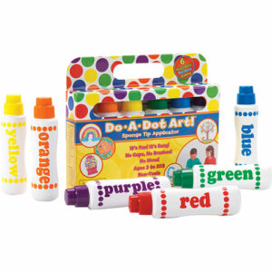 Rainbow Markers 6 Pack