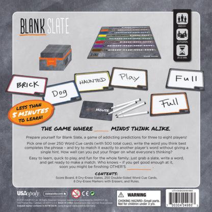 Blank Slate™ Game