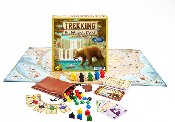 Trekking The National Parks The Board Game