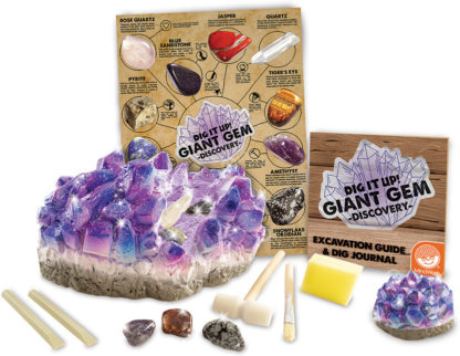 Dig It Up! Giant Gem Discovery