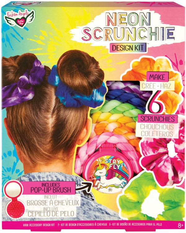Neon Scrunchie Design Kit