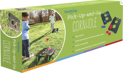 Pick-Up-and-Go Cornhole