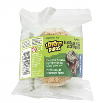 I Dig it Dinos! - Dino Egg (packed in 24 unit Display)
