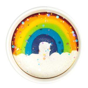 LUXE Dough Cup, Rainbow