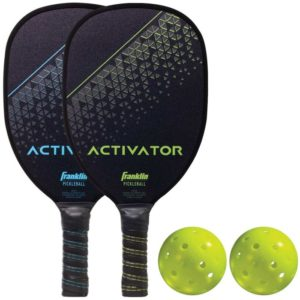 Activator 2-Player Wood Pickleball Paddle & Ball Set