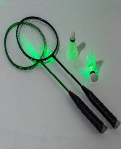 2-Player Light-Up Badminton Set