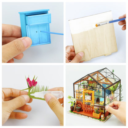 Cathy's Flower House DIY Miniature