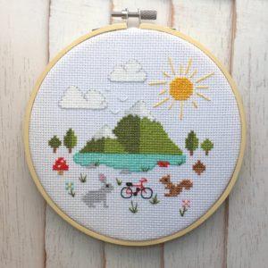 Great Outdoors Cross Stitch Kit