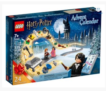 LEGO Advent Harry Potter