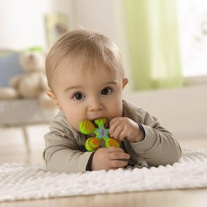 Star Silicone Clutching Teether