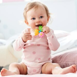 Clutching Toy Petal Silicone Teether