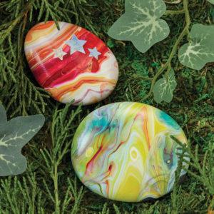 Hide & Seek Paint Pour Rocks