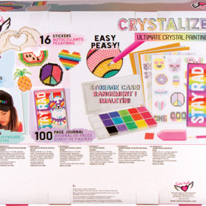 Crystalize It! Crystal Painting Super Set