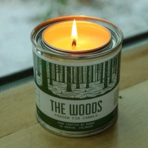 The Woods 1/2 Pint Candle