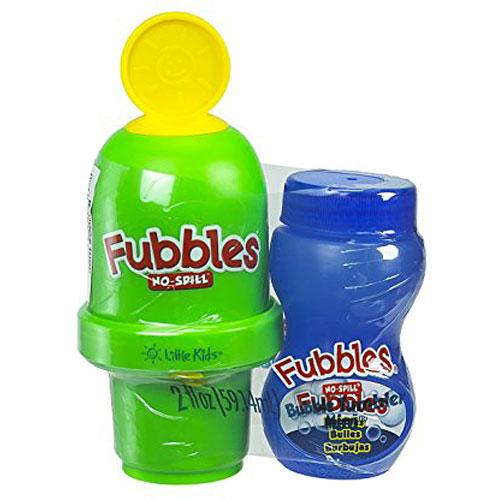 Little Kids Fubbles No-Spill Bubble Tumbler Minis Party Pack, 12-Pack 2 Fl. Oz.