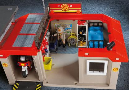 Take Along Fire Station