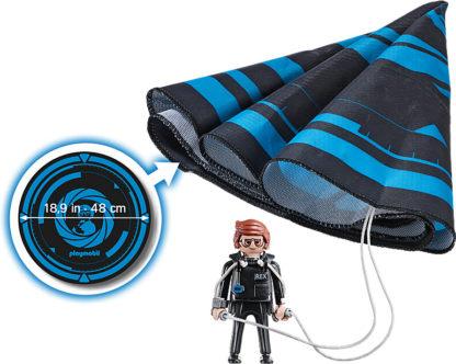 PLAYMOBIL:THE MOVIE Rex Dasher with Parachute