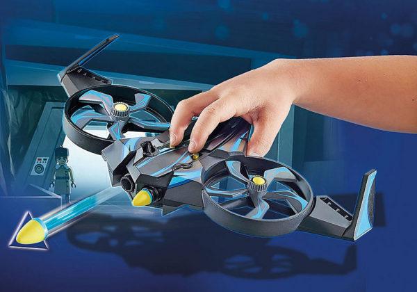 PLAYMOBIL:THE MOVIE Robotitron with Drone