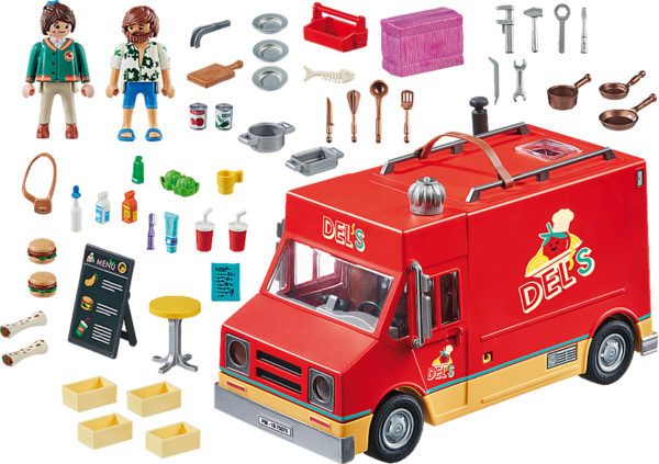 PLAYMOBIL: THE MOVIE Del's Food Truck