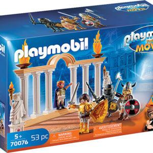 PLAYMOBIL:THE MOVIE Emperor Maximus in the Colosseum