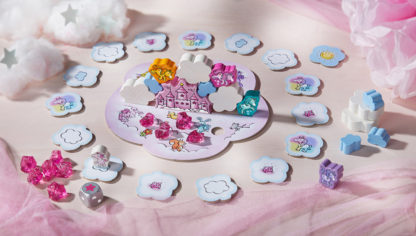 Unicorn Glitterluck - Cloud Stacking Game