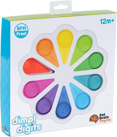 Dimpl Digits Activity Toy