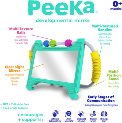 Peeka Developmental Mirror