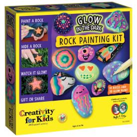 Glow-in-the-Dark Rock Painting Kit