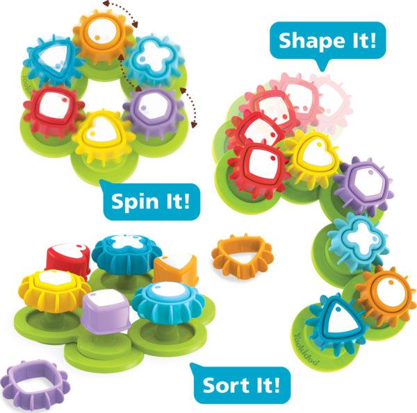 Shape N Spin Gear Sorter