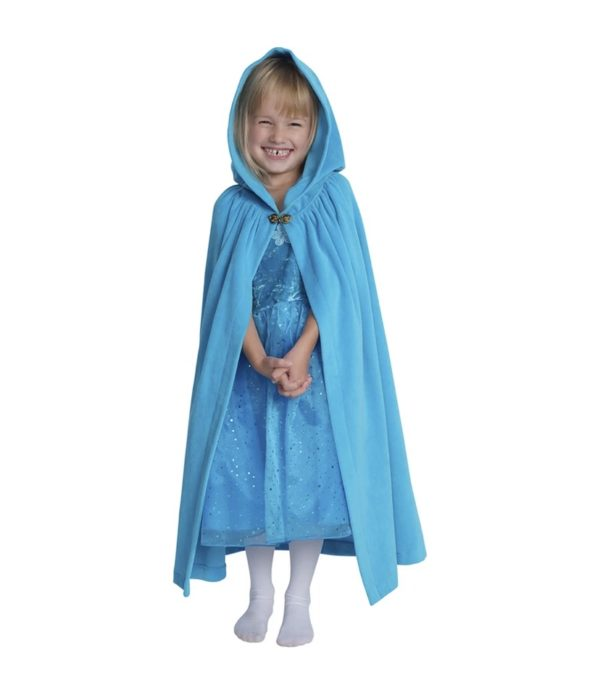 Fairy Flutter Dress with Velour Cape