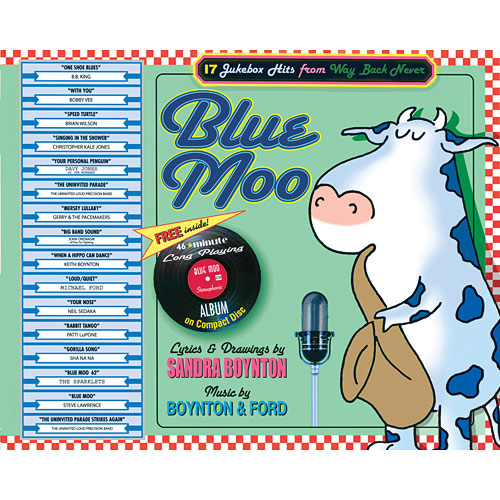 Blue Moo Hardcover