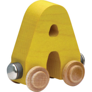Nametrain Bright Color Letter A