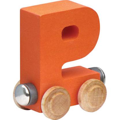 Nametrain Bright Color Letter P