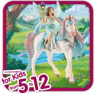 Fairy Eyela With Princess Unicorn