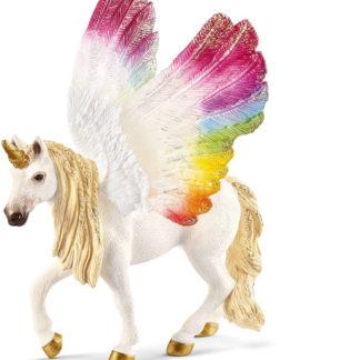 Winged Rainbow Unicorn