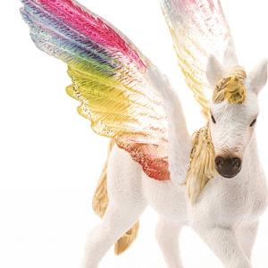 Winged Rainbow Unicorn Foal
