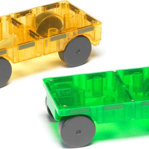 Magna-Tiles™ Cars 2 Piece Expansion Set