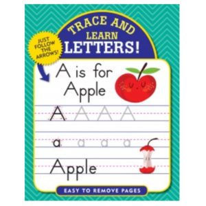 Trace & Learn Book, Letters